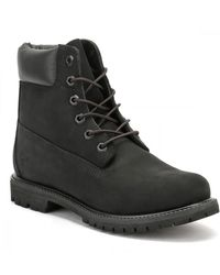 Timberland 6 inch Premium Schwarze Stiefel