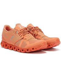 On Running Cloud Monochrome Flare Trainers - Pink