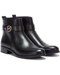 Michael Kors Abigail Flat Womens Black Boots