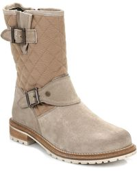 Barbour - Womens Brent Sand Beige Boots - Lyst