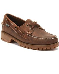 Sebago Ranger Tumbled Mens Brown Shoes