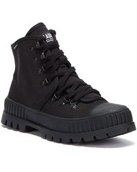 Palladium Pallashock Hiker Hi Boots - Black