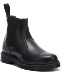 Dr. Martens Dr. Martens 2976 Smooth Leather Mono Womens Black Boots