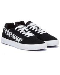 Ellesse Ostuni Womens Black / White Sneakers