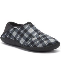 TOMS Rodeo Mens Black / Chequered Slippers