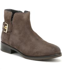 Tommy Hilfiger - Womens Black Coffee Tessa 1b Ankle Boots - Lyst