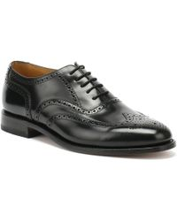 Loake 202b Brogue Shoes - Black