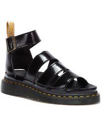 Dr. Martens Dr. Martens Clarissa Ii Oxford Vegan Sandals - Black