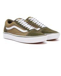 Vans Comfycush Old Skool Eu 40 - Green