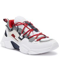 Tommy Hilfiger City Voyager Chunky Trainers - White