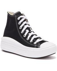 Converse Chuck Taylor All Star Move Hi-top Sneakers - Black