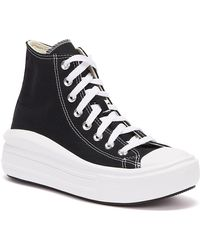 Converse Baskets noires Chuck Taylor All Star Move