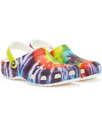 Crocs™ Classic Tie Dye Multi Clogs - Mehrfarbig