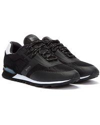 BOSS by HUGO BOSS Parkour Runn Mesh Black Sneakers - White