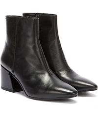Vagabond Olivia Womens Black Leather Boots