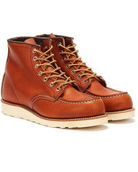 Red Wing Gold Legacy Classic Moc 875 Shoes - Brown