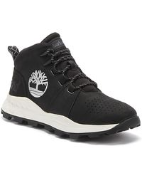 Timberland Brooklyn City Mid Mens Black Sneakers