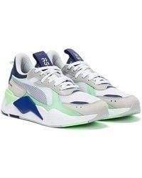 PUMA Rs-x Toys / Elektro Blue Trainers - White