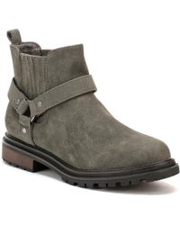 Rocket Dog - Womens Charcoal Eagle Loki Boots Women's Low Ankle Boots In Grey - Lyst