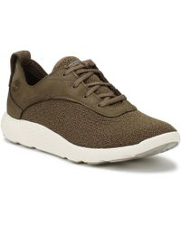 Timberland - Mens Canteen Brown Flyroam Ox Trainers - Lyst
