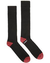Dr. Martens Dr. Martens & Oxblood Doc's Socks - Black
