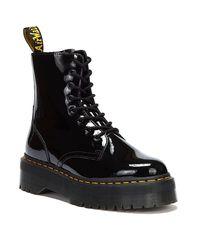 Dr. Martens Dr. Martens Jadon Patent Lamper Boots - Black