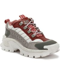 Caterpillar - Intruder 2 Red + Ash Chunky Trainers - Womens Uk 6 - Lyst
