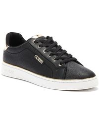 Guess Beckie Womens Black Trainers