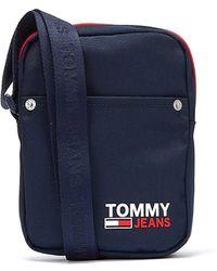 Tommy Hilfiger Tommy Jeans Campus Marine Reportertasche Für - Blau