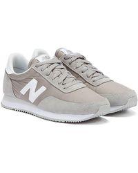 New Balance 720 / White Trainers - Grey