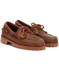 Sebago Ranger Tumbled Chaussures Marron Pour