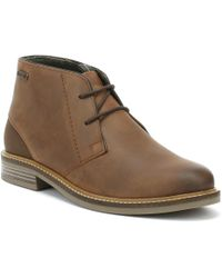 Barbour Mens Redhead Tan Boots - Brown