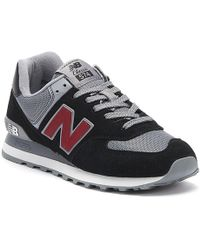 New Balance - 574 Mens Navy Sneakers - Lyst