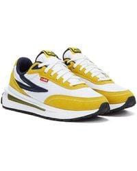 Fila Renno Marineblaue Sneaker
