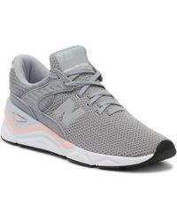 New Balance - Womens Arctic Sky Grey / Himalayan Pink X90 Sport Trainers - Lyst