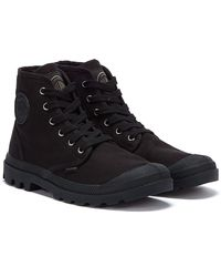 Palladium Pampa Hi Mens Black Boots