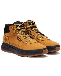 Timberland Field Trekker Mid Mens Wheat Brown Boots