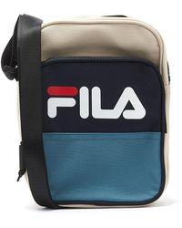 Fila Rufus Bleached Sand / Peacoat / Blue Cross Body Bag