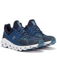 On Running Cloudswift Marineblaue Sneakers