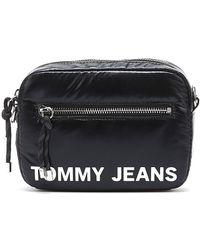 Tommy Hilfiger Tommy Jeans Item Crossover Black Bag
