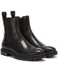 Vagabond Johnny Chelsea bottes noires pour hommes