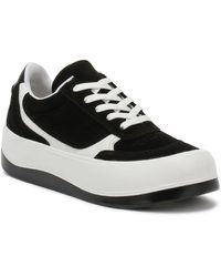 TOWER London Hoxton / White Trainers - Black