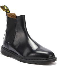 Dr. Martens Dr. Martens Graeme Ii Smooth Mens Black Boots