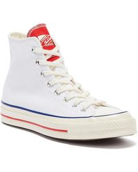 Converse Chuck 70 Twisted Tongue Hi Mens White Sneakers