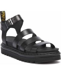 Dr. Martens Dr. Martens Blaire Brando Womens Black Sandals