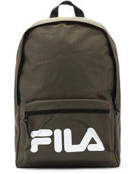Fila Verdon Dusty Olive / White Backpack - Green