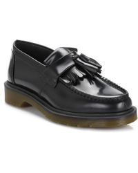 Dr. Martens Dr. Martens Adrian Black Leather Loafers