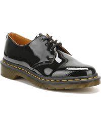 Dr. Martens 1461 Patent Lamper 3-eye Shoes - Black