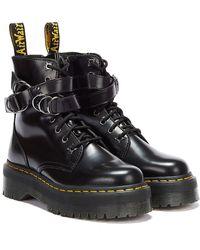 Dr. Martens Dr. Martens Jadon Hardware Buttero Boots - Black