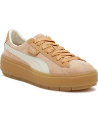 newest collection 6e183 3fa69 PUMA Platform Trace Trainers In Yellow - Lyst
